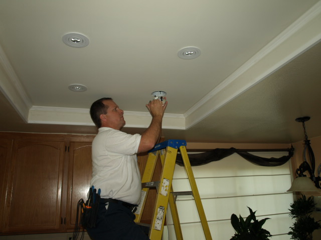 Lighting Newbury Park Recessed Lighting Installation